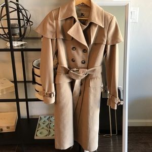 Burberry London Wool Trench